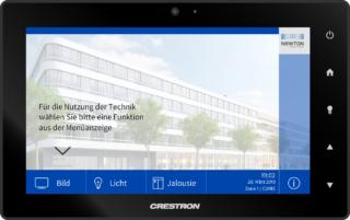 Einheitliche Bedienoberfläche für Audio, Video und Licht beim TÜV in München